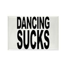 Dancing Sucks Rectangle Magnet