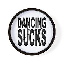 Dancing Sucks Wall Clock