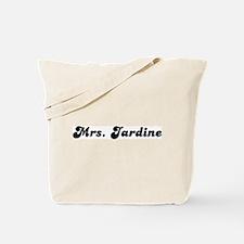 Mrs. Jardine Tote Bag