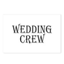 Wedding Crew Postcards (Package of 8)
