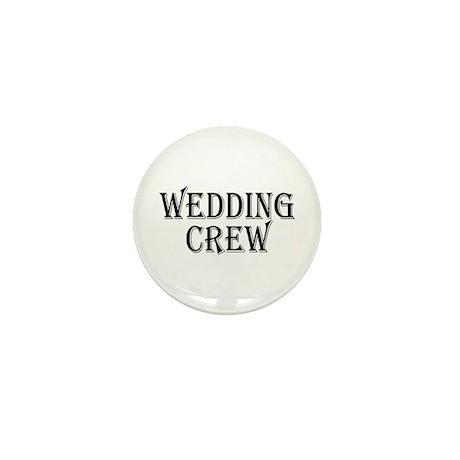Wedding Crew Mini Button (10 pack)