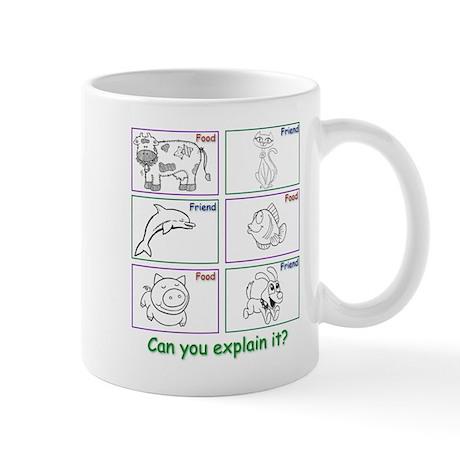 Friend or Food Mug