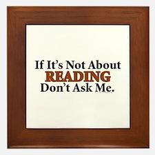 Reading Framed Tile