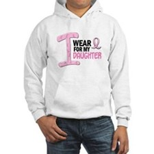 I Wear Pink For My Daughter 21 Hoodie