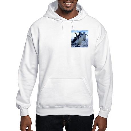 Cute Penguins Hooded Sweatshirt