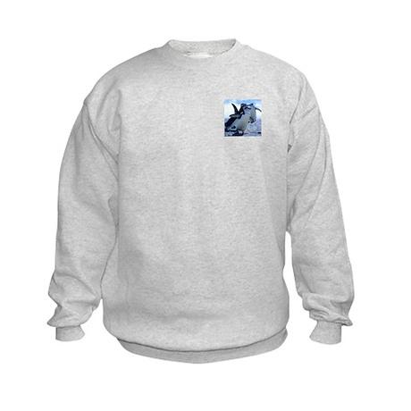 Cute Penguins Kids Sweatshirt