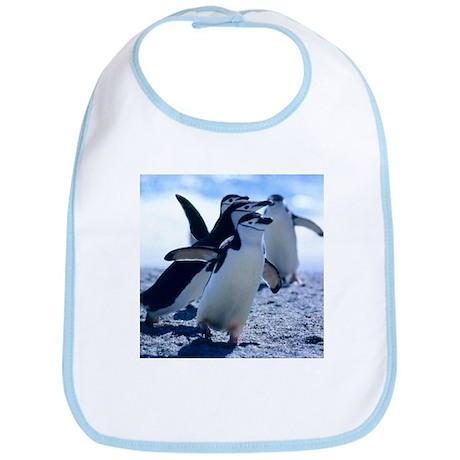 Cute Penguins Bib