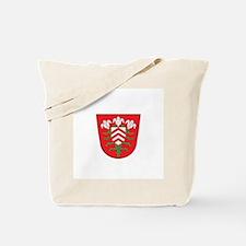 halle city Tote Bag