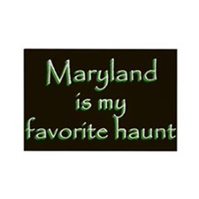 Maryland Haunt Magnet - Green