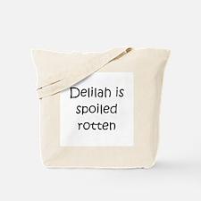 Unique Delilah Tote Bag