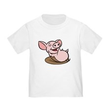 Playful Pig T
