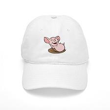 Playful Pig Baseball Cap
