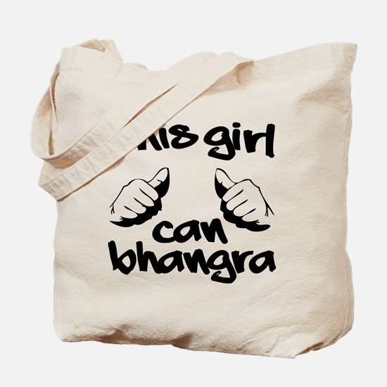 This Girl can Bhangra Tote Bag