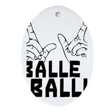 Balle Balle Oval Ornament