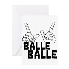 Balle Balle Greeting Card