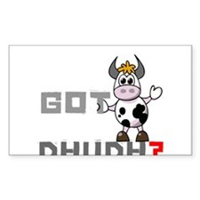 Got Dhudh? Rectangle Decal