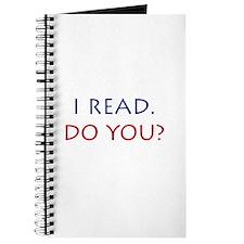I Read. Do you? Journal