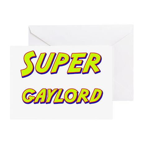 Super gaylord Greeting Card