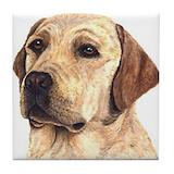 Labrador retriever Tile Coasters