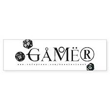 Gamer Bumper Bumper Sticker