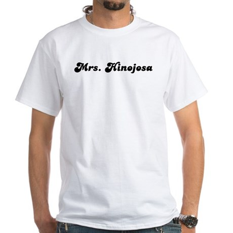 Mrs. Hinojosa White T-Shirt