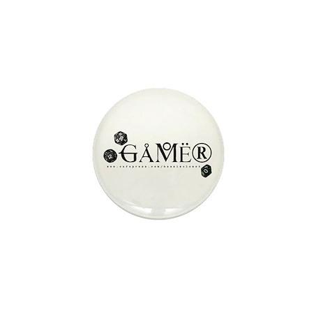 Gamer Mini Button (10 pack)