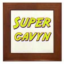 Super gavyn Framed Tile