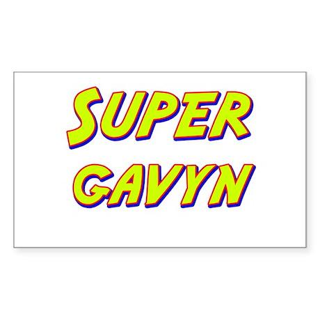 Super gavyn Rectangle Sticker