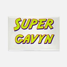 Super gavyn Rectangle Magnet