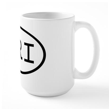 URI Oval Large Mug