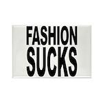 Fashion Sucks Rectangle Magnet