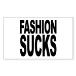 Fashion Sucks Rectangle Sticker 10 pk)