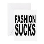 Fashion Sucks Greeting Card