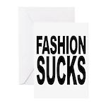 Fashion Sucks Greeting Cards (Pk of 10)