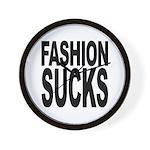 Fashion Sucks Wall Clock