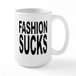 Fashion Sucks Large Mug
