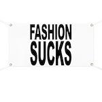 Fashion Sucks Banner