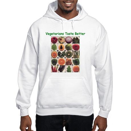 Veg*ns Taste Better Hooded Sweatshirt