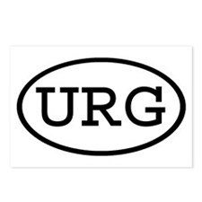 URG Oval Postcards (Package of 8)