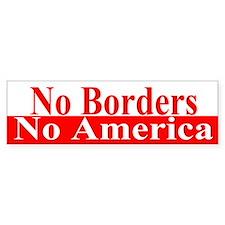 No Borders No America (Bumper)