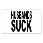 Husbands Suck Rectangle Sticker