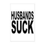 Husbands Suck Mini Poster Print