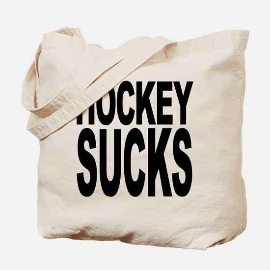 Hockey Sucks Tote Bag