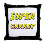Super garret Throw Pillow