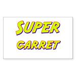 Super garret Rectangle Sticker