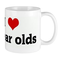 I Love 5 year olds Mug