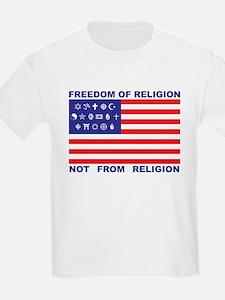 Freedom of Religion Kids T-Shirt