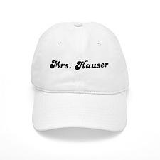 Mrs. Hauser Baseball Cap