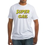Super gail Fitted T-Shirt