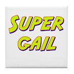 Super gail Tile Coaster
